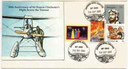 AUSTRALIA. Anniversary Of Sir Francis Chichester Flight Accross Tasman Sea (year 1931) - Flugzeuge