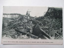 WARDNER  -   BUNCKER  HILL  &  SULLIVAN   MILL   -  DYNAMITE   ....APRIL  29  , 1899  .....       TTB - Etats-Unis