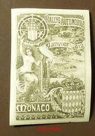 Werbemarke Cinderella Poster Stamp  Monaco Rallye Automobile 1912  #112-grau - Erinnofilia