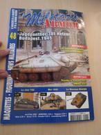 AVICOV Revue De Maquettisme Plastique MAQUETTES MILITAIRES N°49 De 2007 , Valait 5.95 €; Sommaire En Photo 3 ; TB état - Revues