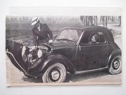 Publicité -Simca 5 Automobile Franco-italienne Conçue Par Fiat -  Coupure De Presse De 1936 - Voitures