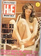 (revue Naturiste ) H&E (health & Efficiency) Vol 77/7 1976 (PPP11766) - Books, Magazines, Comics
