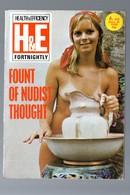 (revue Naturiste ) H&E (health & Efficiency) N°918.. 1974(PPP11767) - Books, Magazines, Comics