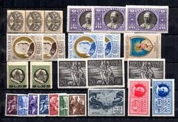 Vatican Petite Collection De Bonnes Valeurs Neufs **/* 1933/1955. B/TB. A Saisir! - Collections