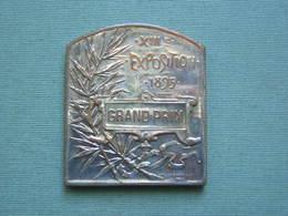 MEDAILLE - SOCIETE PHILOMATHIQUE DE BORDEAUX - XIIIe EXPOSITION 1895 - GRAND PRIX - Francia