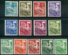 France Préos (1953) N 106 à 118  ** (Luxe) - 1953-1960