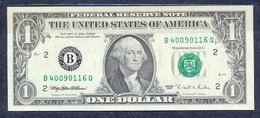 USA - 1995 -1 Dollar - New York - P496aB..UNC - Federal Reserve (1928-...)