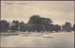 AK Grünau Uferpartie Boote, Gelaufen 1916 - Non Classificati