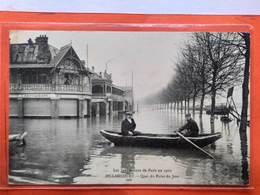 CPA (92) Inondations De Paris 1910.  Billancourt.Quai Du Point Du Jour.   (O.412) - Boulogne Billancourt