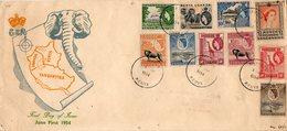 Lettre De 1954 ( KENYA, UGANDA, TANGANYIKA ) - Kenya, Uganda & Tanganyika