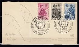 Brief Van Antwerpen Wereldjaar Van De Vluchteling - Belgique