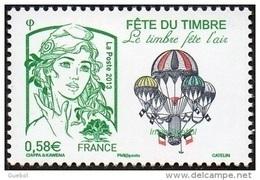 France Marianne De La Jeunesse Par Ciappa Et Kawena N° 4809 ** Fête Du Timbre 2013 - Le Timbre Fête L'air - 2013-... Marianne De Ciappa-Kawena