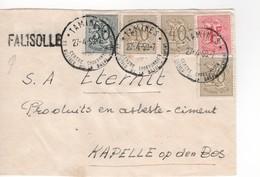 FALISOLLE Op Brief De/van Tamines 27/5/59 - Marcofilia