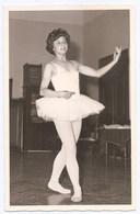 BALLET , Jeune Fille - Ballerine , CP Photo , - Tanz