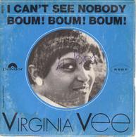 "VIRGINA VEE ""I CAN'T SEE NOBODY - BOUM ! BOUM ! BOUM !""DISQUE VINYL 45 TOURS - Rock"