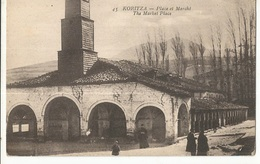 CPA, Albanie ,N°45, Koritza , Lace Du Marché, Ed. Ch. Collas - Albanie