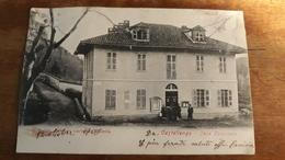 Biella Cossato Castellengo - Casa Comunale - VIAGGIATA  1908 - Animata - Biella