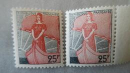 1216 Marianne à La Nef Variété Brun Rouge Clair - Andere