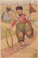 """édit.raphael Tuck Série 386 Précurseur """" Le Dimanche Les Gars Du Hameau.....""""( Lot Pat 90/4) - Tuck, Raphael"""