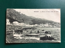 ACIREALE (CATANIA) S. MARIA LA SCALA VISTA DAL MARE    1916 - Acireale