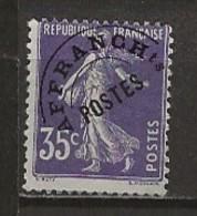 FRANCE:, (*), PREOBLITERES N° YT 62, B/TB - 1893-1947