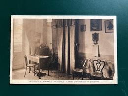 ACIREALE (CATANIA) ISTITUTO S. MICHELE  CAMERA DEL MINISTRO DI DISCIPLINA  1938 - Acireale