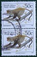 50 C Endangered Fauna Samango Monkey 1993 Mi 897 Y&T - Used Gebruikt Oblitere SUD SOUTH AFRICA RSA - Sud Africa (1961-...)