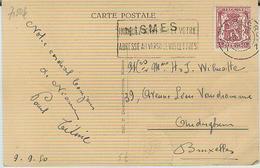 NISMES  Op Zichtkaart/carte Vue 1950 - Marcofilia