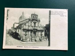 ACIREALE (CATANIA) BASILICA DI S. SEBASTIANO   1927 - Acireale