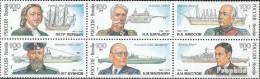 Russland 334-339 Sechserblock (kompl.Ausg.) Postfrisch 1993 Schiffbauer - Unused Stamps