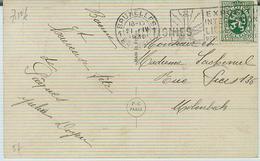 OTIGNIES Op Zichtkaart/carte Vue 1930 - Marcofilia