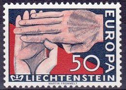 (*) Timbres EUROPA CEPT LIECHTENSTEIN 1962 N° Y&t 366 Neuf(s) ** MNH Luxe - 1962