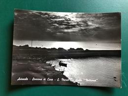 ACIREALE (CATANIA) STAZIONE DI CURA S. MARIA LA SCALA  NOTTURNO    1960 - Acireale