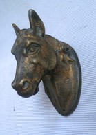 Tête De Cheval En Bronze COLLECTOR - Bronzes