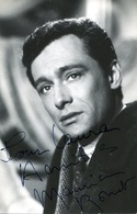 Maurice RONET (1927-1983)  Rare Photo Dédicacée Et Signée à La Plume - Autografi