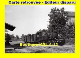 BVA 653-11 - Train - Loco 020+020 T N° 104 En Gare - LE LONZAC - Corrèze - POC - Other Municipalities