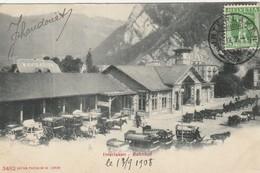 Interlaken  Bahnof - BE Berne