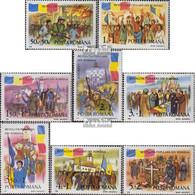 Rumänien 4613-4620 (kompl.Ausg.) Postfrisch 1990 Volksaufstand - 1948-.... Republiken