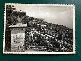 ACIREALE (CATANIA) VILLA PUBBLICA BELVEDERE  TERRAZZA SUL MARE 1955 - Acireale