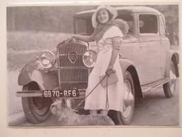 Voiture Peugeot 301   -  Coupure De Presse De 1932 - Voitures