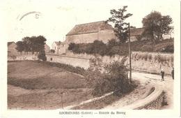 Dépt 45 - ESCRENNES - Entrée Du Bourg - (Éditeur : L. Lenormand) - Andere Gemeenten