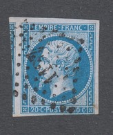 France - Timbres Oblitérés - Type Napoléon III - N°14Ac - Cote: 12 Euros - TB - 1853-1860 Napoleone III