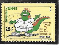 TIMBRE OBLITERE DU NIGER DE 2005 N° MICHEL 1996 - Niger (1960-...)