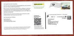 Dialogpost, Karte, Ford Schwabengarage Leonberg, DV 01.20, 30 C, Datamatrix, Focus Active, Frankierwelle, 2020 (92725) - Machine Stamps (ATM)