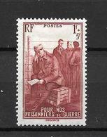 1941- France  / Prisoniers De Guerres / YT 475 / MNH * - Nuovi