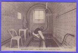Carte Postale 71. Bourbon-Lancy  Une Salle De Ban Et Douche Sous Marine    Très Beau Plan - Autres Communes