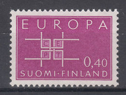 Timbres EUROPA CEPT FINLANDE 1963 N° Y&t 556 Neuf(s) ** MNH Luxe - 1963