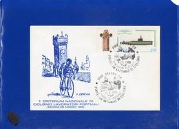 ##(DAN203)-Italia 1980-1° Criterium Nazionale Di Ciclismo Lavoratori Portuali-Savona, Busta Con Annullo Speciale-cycling - Cyclisme