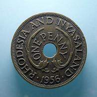 Rhodesia And Nyasaland 1 Penny 1956 - Rhodesien