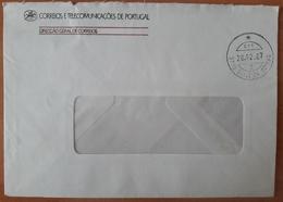 Portugal - COVER - Franchise / AVENÇA - Cancel: Oliveira Bairro (1987) - Direcção Geral De Correios - Franchise